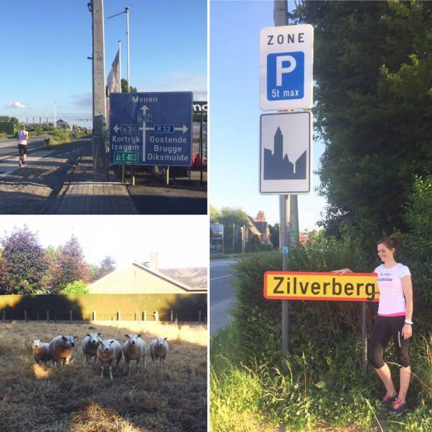MOMS RUN THE CITY Roeselare lopen Zilverberg