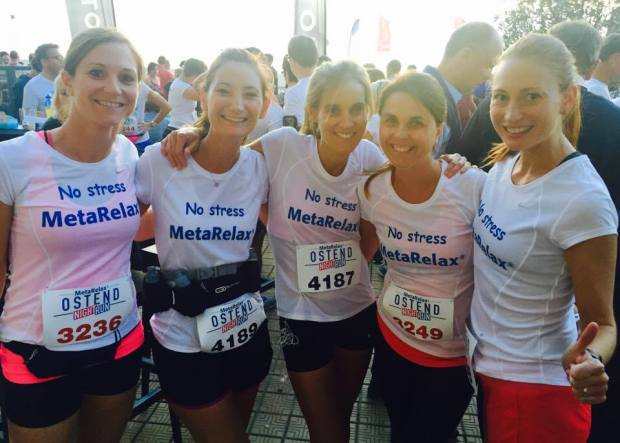 #momSrunthecity Metarelax Ostend Night Run
