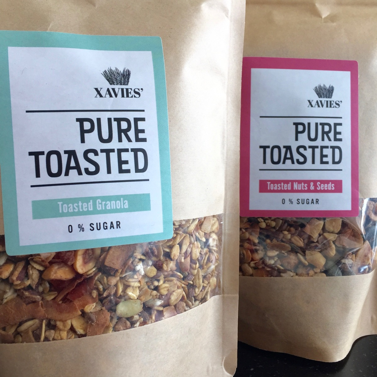 Xavies granovie pure toasted