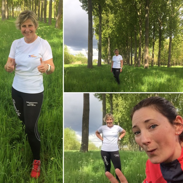 Moms Run The City in Gavere met Carine Lippens