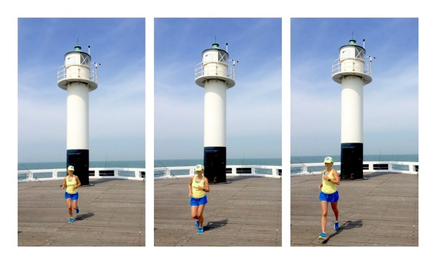 Mom Runs The City met Nathalie in Nieuwpoort